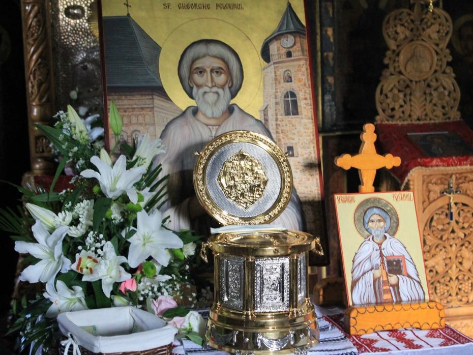 Racla cu Sfintele Moaște ale Sfântului Gheorghe Pelerinul